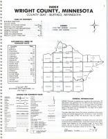 Index Map, Wright County 1981